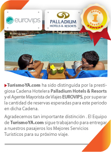 n°1 en Ventas - Grand Palladium - Hotels & Resorts  - EUROVIPS